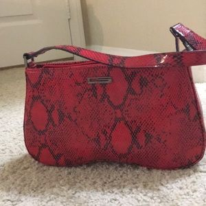 Wild Red GUESS purse
